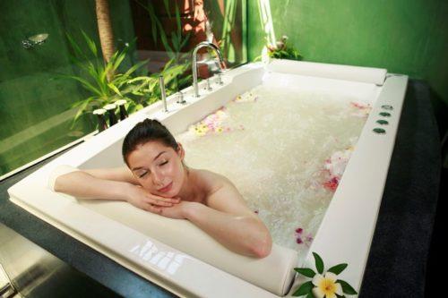 home spa bath