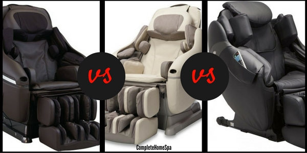 Inada Sogno Dreamwave vs Inada Dreamwave vs Inada Flex 3S