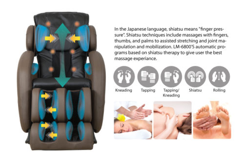 Kahuna Massage Chair LM6800 full photo