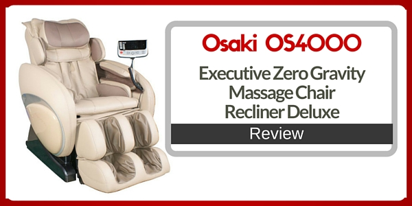 Osaki OS-4000 Executive Zero Gravity Massage Chair Recliner Deluxe Review