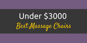 best massage chair under 3000