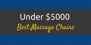 best massage chair under 5000