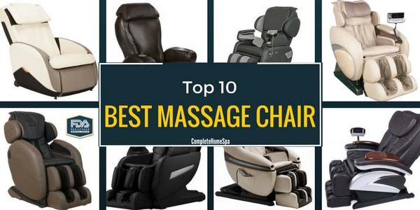 The Top 10 Massage Chairs (and More)