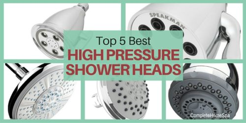 Top 5 High Pressure Shower Heads