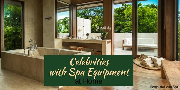 Celebrity Home Spas