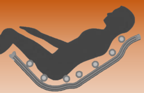 massage chairs l track