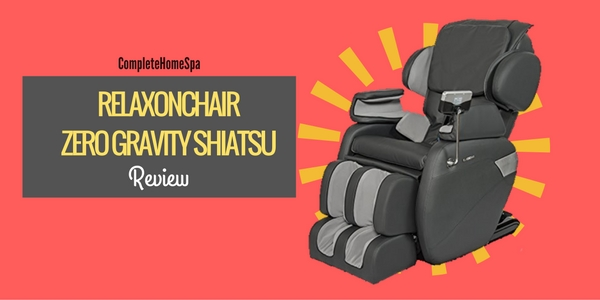 Relaxonchair Zero Gravity Shiatsu Review