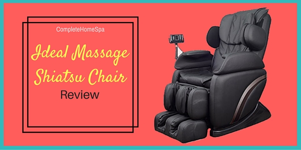 Ideal Massage Shiatsu Chair Review