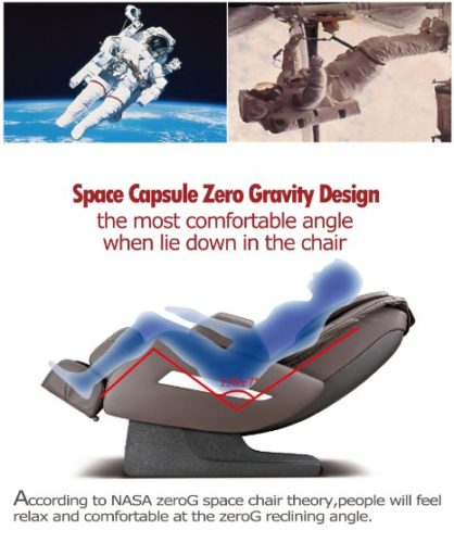 BestMassage Shiatsu Recliner zero gravity design