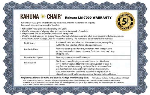 kahuna-lm-7000-warranty