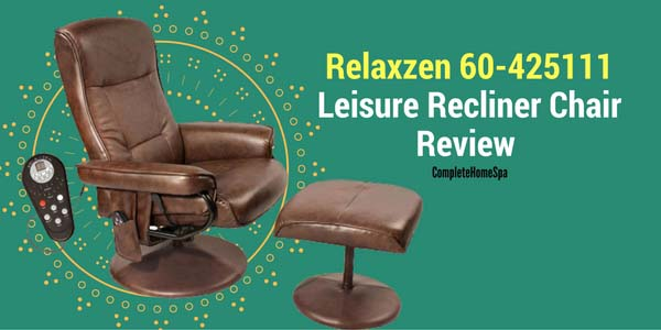 Relaxzen 60-425111 Leisure Recliner Chair Review