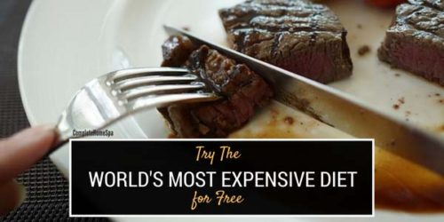 Try The World's Most Expensive Diet for Free