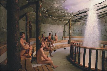 german massage naked
