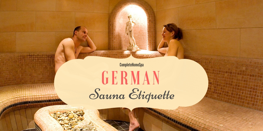 german sauna etiquette