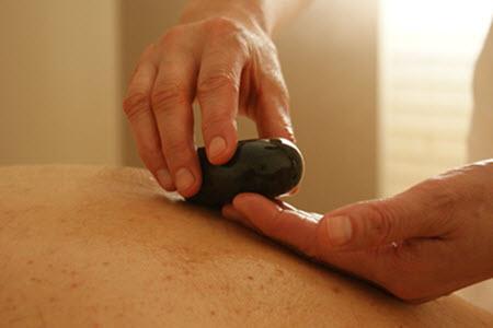 massage stone therapy