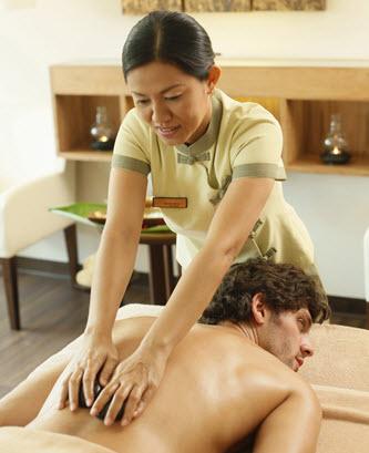 stone massage therapist