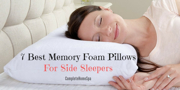 7 Great Memory Foam Pillows for Side Sleepers