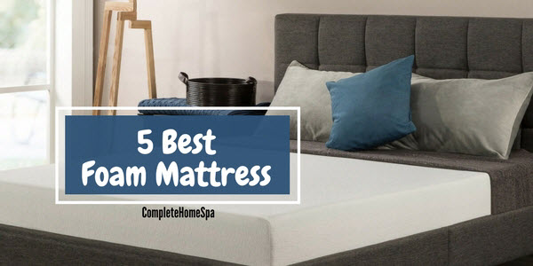 The 5 Best Foam Mattress For Those On A Budget