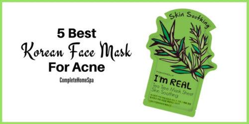 5 Best Korean Face Mask for Acne