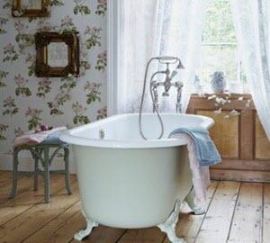 classic flat rim tub