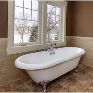 double ended claw tubs