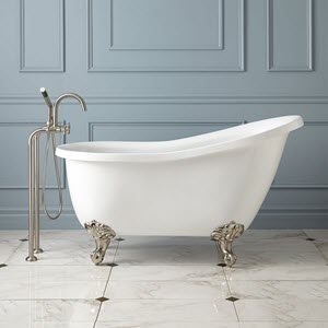 single slipper claw tubs