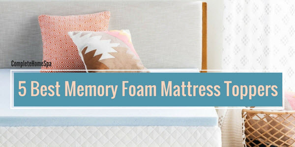 The 5 Best Memory Foam Mattress Toppers (Feb 2018)