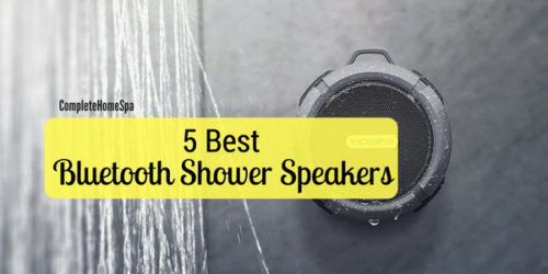 The 5 Best Bluetooth Shower Speakers
