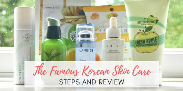 korean skin care steps