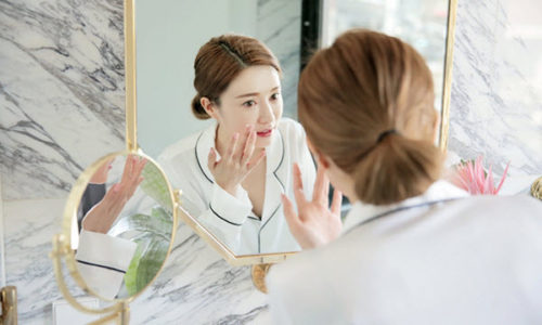korean skin care use