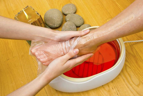 paraffin wax treatment feet