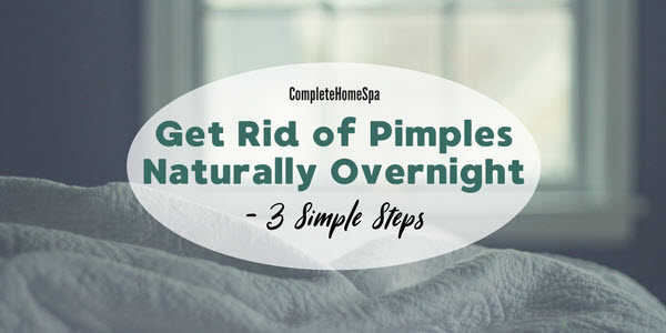 How To Remove Acne Overnight in 3 Simple Steps