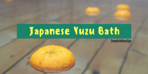 DIY Relaxing and Healing Japanese Yuzu Bath