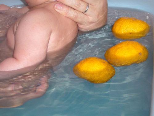 yuzu citrus bath