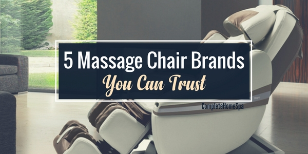 5 Massage Chair Brands You Can Trust