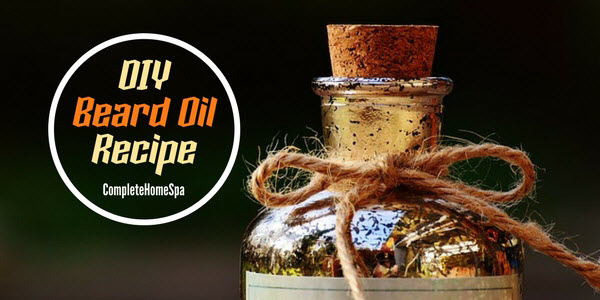 A DIY Beard Oil Recipe to Banish Beardruff and Erase Acne