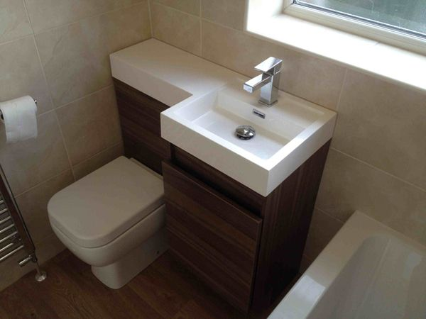 compact toilet and sink