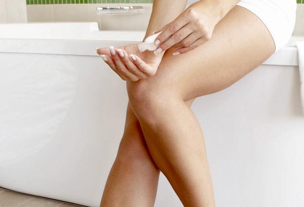 shaving your legs