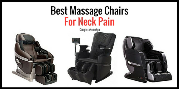 The Top 4 Massage Chairs for Neck Pain