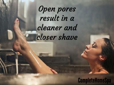open pores closer shave