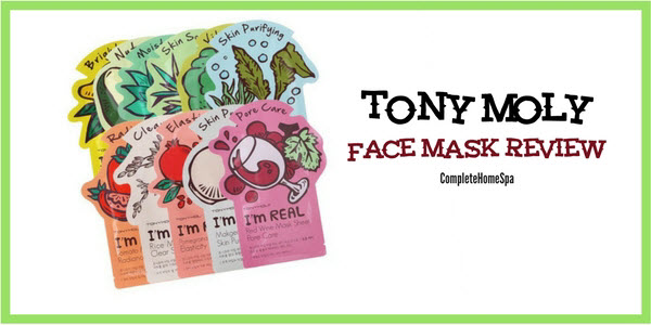 TonyMoly Face Mask Review