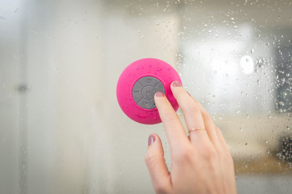 bathroom bluetooth speaker