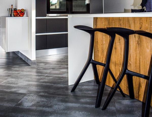 kitchen textured flooring