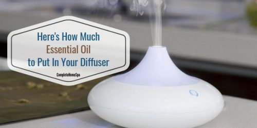Here's How Much Essential Oil to Put In Your Diffuser