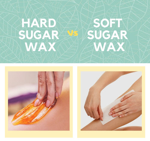 what is hard sugar wax