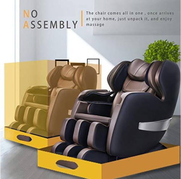 fully assembled massage chair