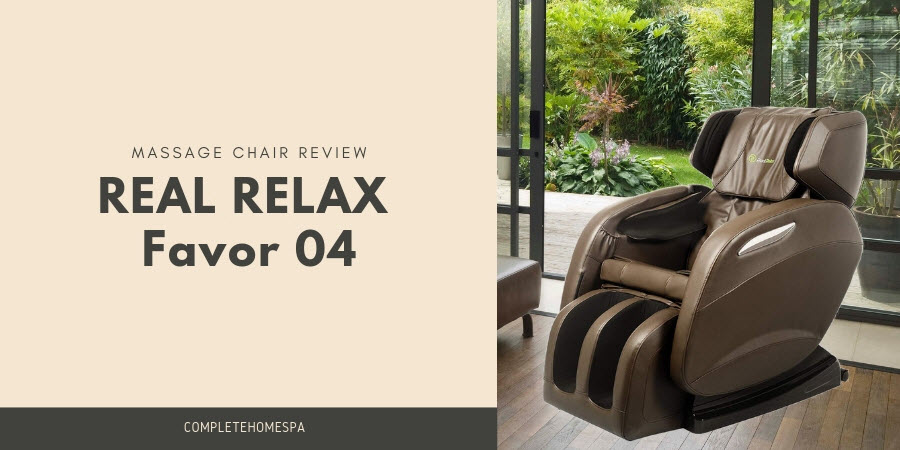 real relax favor 04 massage chair review