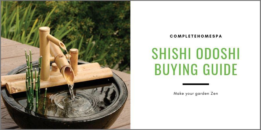 how to make shishi odoshi