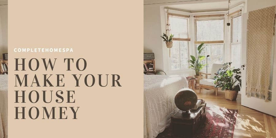 how to make a house more homey