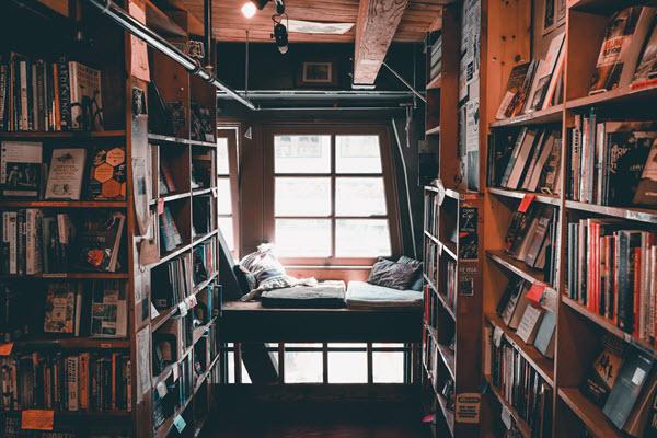 how to make an apartment homey book heaven